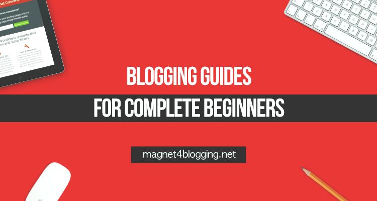beginner blogging guides