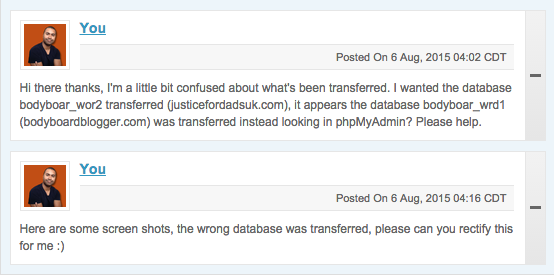 SiteGround Website Transfer