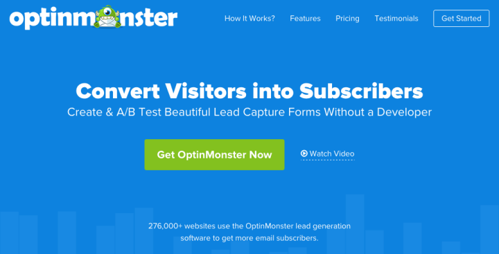 OptinMonster Home