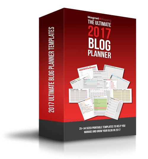 2017 Ultimate Blog Planner Work Book, maybe the best blog planner in the business!