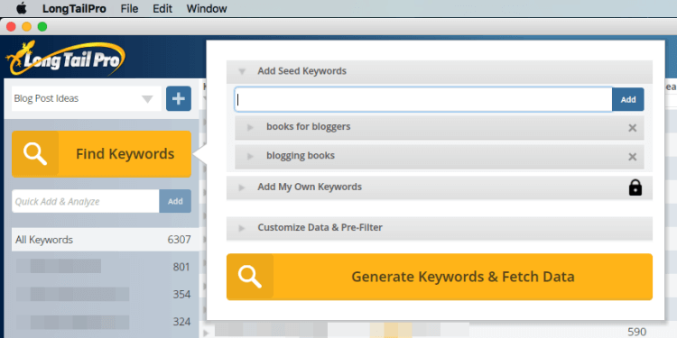 How To Use Long Tail Pro To Find Blog Post Topics To Write About