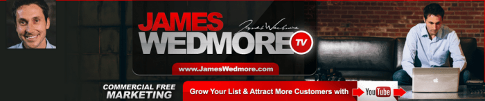 James Wedmore YouTube