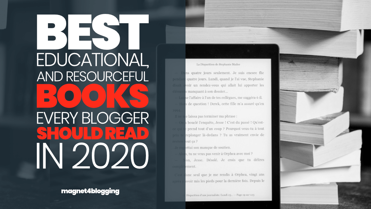 2020 Best Books.20 Epic Must Read Books For Bloggers And Marketers For 2020