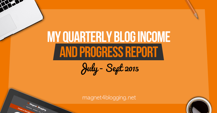 Quarterly Income Report July