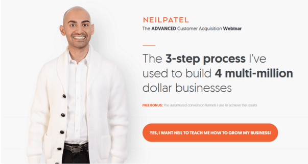 Neil Patel Home