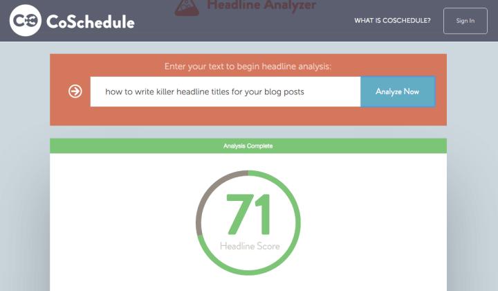 headline title tools