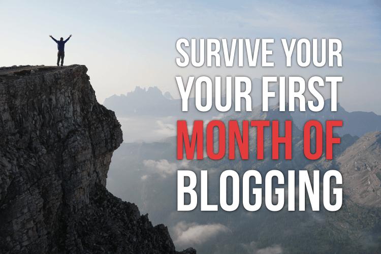 survive month blogging