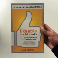 """likeable social media by dave kerpen Our next book review is of dave kerpen's new york times best seller """"likeable social media,"""" subtitled """"how to delight your customers, create an irresistible brand, and be generally amazing on facebook (and other social networks)."""