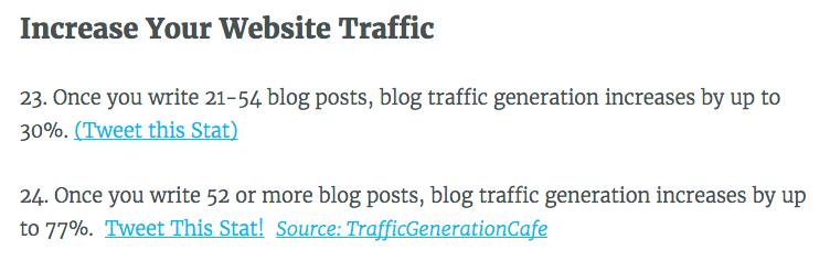 stats traffic