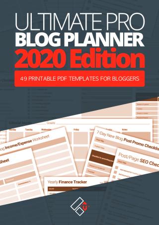 blog planner small sb