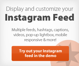 Smashballoon Instagram Feed Plugin
