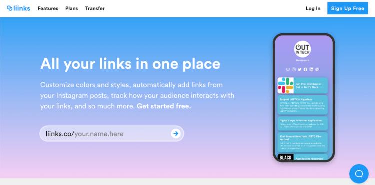 liinks website